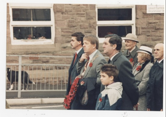 Rememberance Day, Brynmawr