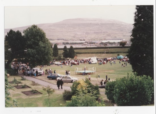 Brynmawr carnival at the Welfare Park
