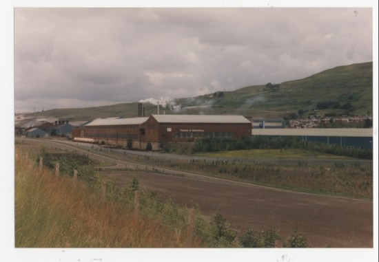 A factory in Brynmawr