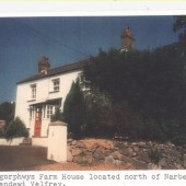 Pantygorphwys Farm House located North of Narberth, in Llandewi Velfrey.