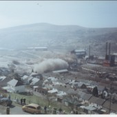 Demolition of Ebbw Vale Steel Works