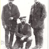 Three Colliers from Nantyglo.