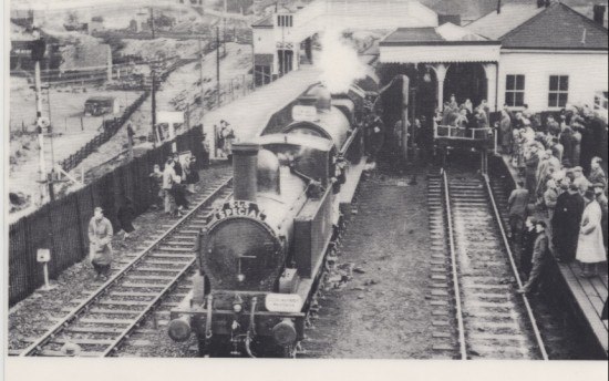 Brynmawr Railway Station