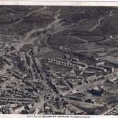 Air View of Brynmawr showing Clydach valley