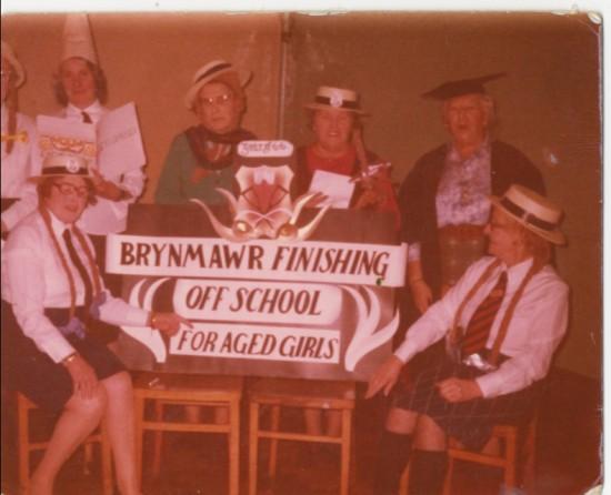 Brynmawr 'Finishing Off School' for Aged Girls