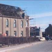 Demolition of Bailey Street Congregational chapel, 1978