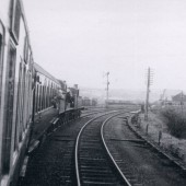 Last Train from Abergavenny entering Brynmawr Station