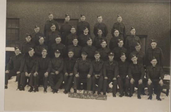 H.Coy.Brynmawr Home Guard.  19PL