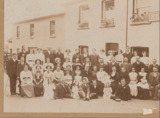 Bethesdad Choir Outing Llangorse 1913