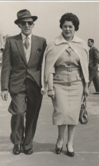 Wilfred and Edith Bythell in Weymouth