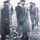 Bandmasters.Mr.W.Rogers meets.H.R.H.Duke of  Gloucester