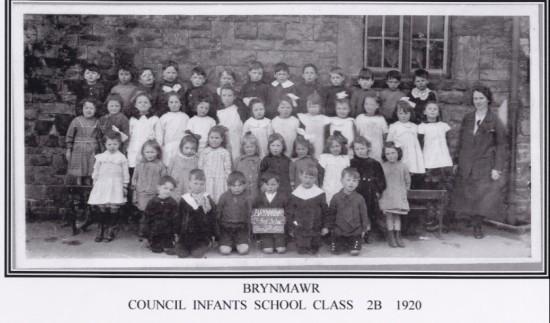 Brynmawr Coucil infants School Class 2B