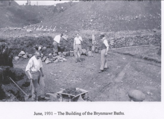 Building of the Brynmawr Baths