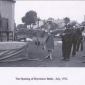 Brynmawr  Baths Opening July.1932