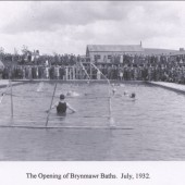Brynmawr Baths Opening July 1932