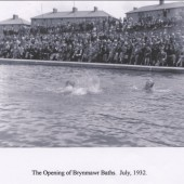 Brynmawr Baths Opening July,1932