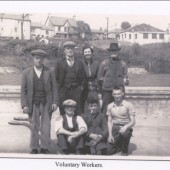 Brynmawr Baths Voluntary Workers