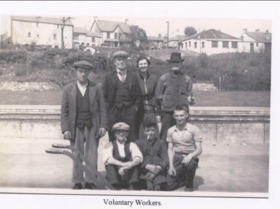 Brynmawr Baths Voluntary Workers