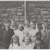 Nantyglo School Scholarship Group March 1942