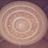 Hermon Chapel ceiling rose