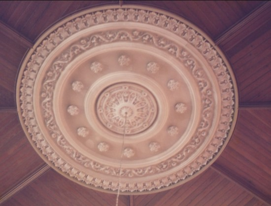 Hermon Chapel ceiling rose