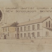Calvary Baptist Church and New School Room