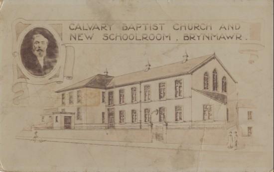 Calvary Baptist Church and New School Room