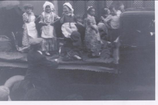 Coronation Day Brynmawr Infants School