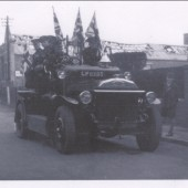 Coronation Day Brynmawr Fire Brigade