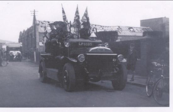 Coronation Day Brynmawr Fire Brigade