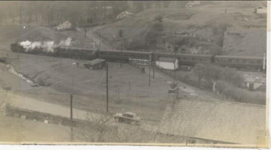 Last train from Brynmawr