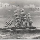 Clipper Ship 'Crawshay Bailey'.