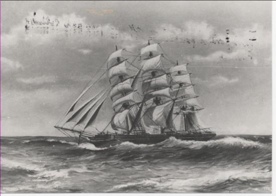 Clipper Ship 'Crawshay Bailey'.