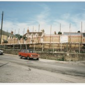 Costruction of  the new Ambulance Hall Brynmawr