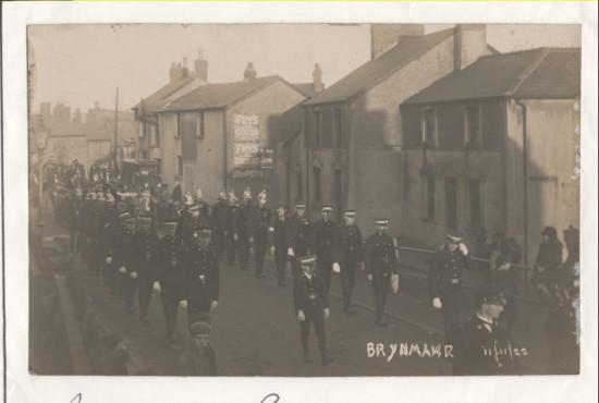 Brynmawr Armistice Parade 1922