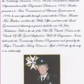 Area Commissioner Blaenau Gwent Mr Mervyn.F.Evans