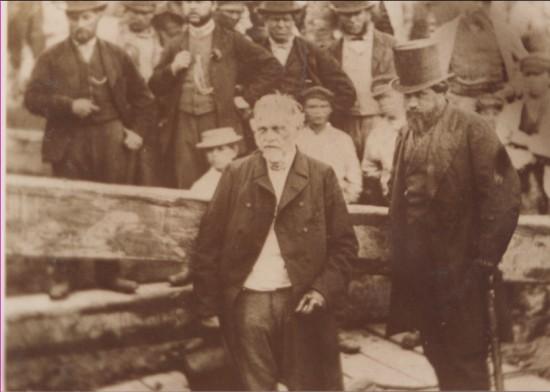 Crawshay Bailey launching a ship