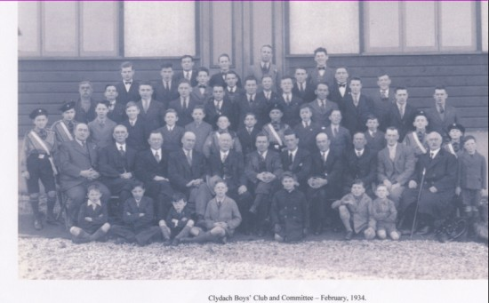Clydach Boys and Committee members