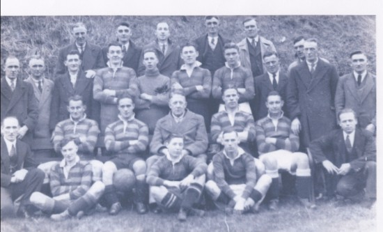 Clydach  Football Team 1936 1937