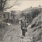 Postman at Clydach Dingle