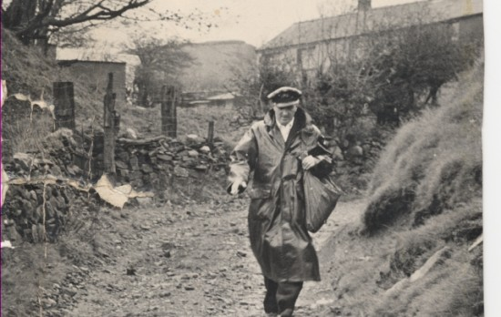 Postman at Clydach Dingle