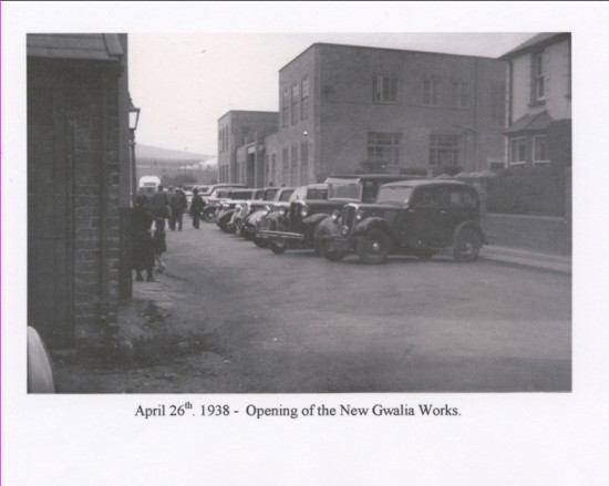 Opening Gwalia Works Official cars