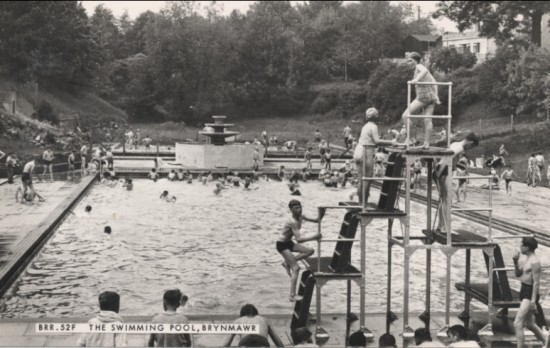 Brynmawr Swimming Pool, 1930s