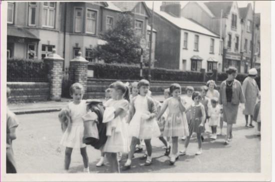 Brynmawr  Chapel Sunday School walks