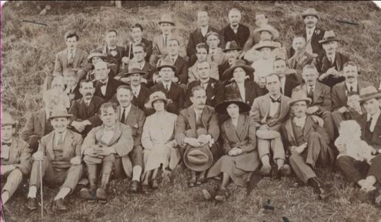 Brynmawr Postoffice staff