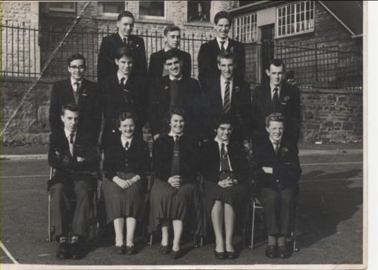 Pupils Brynmawr Grammar School