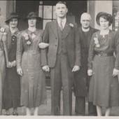 Wedding Frank,Williams to Mary,James