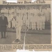 Brynmawr Bowls Club