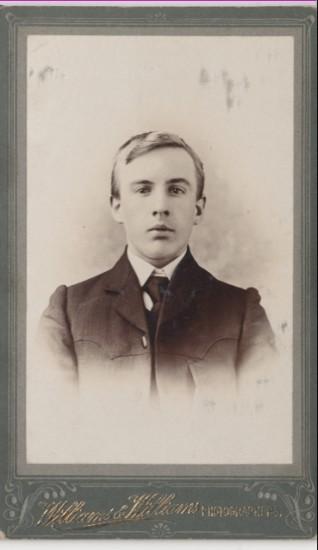 Photograph of Edgar Carpenter