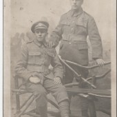Photograph of two Soldiers